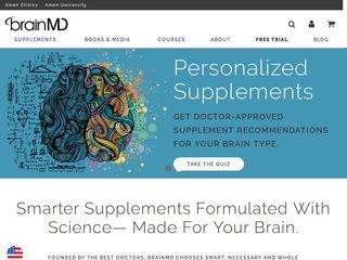 Go to brainmd.com website.