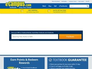 Go to ecampus.com website.