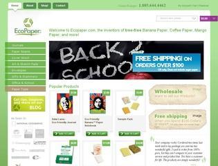 Go to ecopaper.com website.