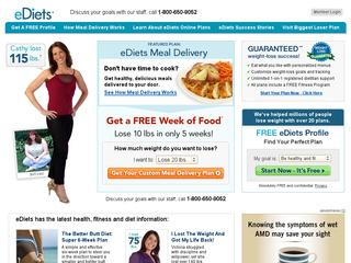 Go to ediets.com website.