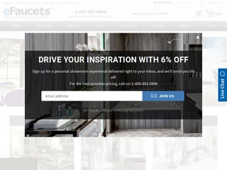Go to efaucets.com website.