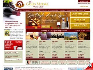 Go to goldmedalwineclub.com website.