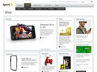 Go to shop.sprint.com website.