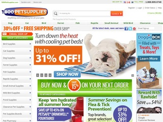 Go to petsupplies.com website.