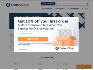 Go to factorydirectfilters.com website.