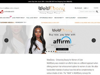 Go to WoWebony website.