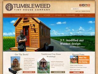 Go to tumbleweedhouses.com website.