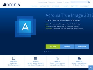 Go to acronis.com website.