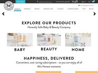 Go to The Honest Company website.