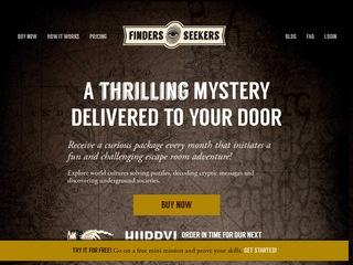 Go to Finders Seekers website.