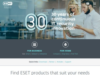 Go to eset.com website.