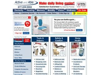 Go to activeandable.com website.