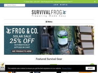 Go to Survival Frog website.