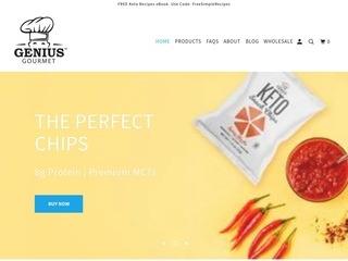 Go to Genius Gourmet website.