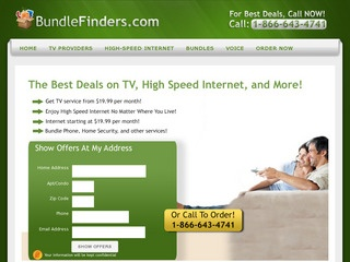 This is what the bundlefinders.com website looks like.