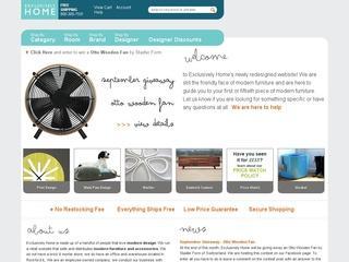 Go to exclusivelyhome.com website.