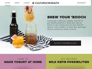 Go to culturesforhealth.com website.