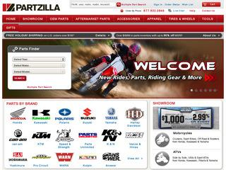 This is what the partzilla.com website looks like.