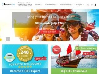 Go to premiertefl.com website.