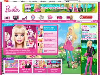 Go to barbie.com website.