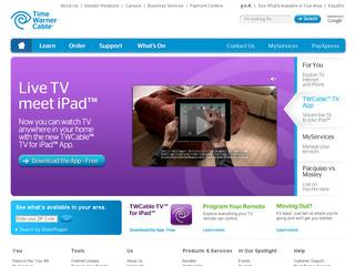 Go to timewarnercable.com website.