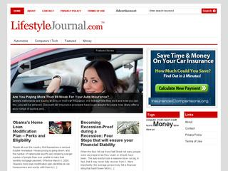 Go to lifestylejournal.com website.