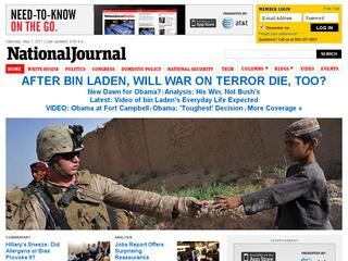 Go to nationaljournal.com website.