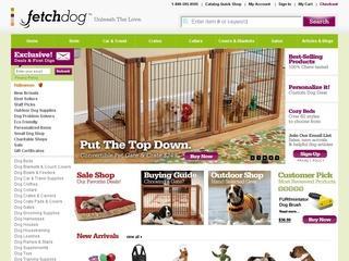 Go to fetchdog.com website.