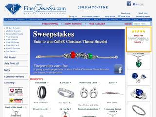 This is what the finejewelers.com website looks like.