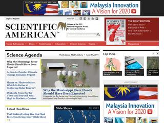 Go to scientificamerican.com website.