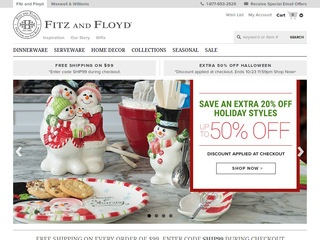 Go to fitzandfloyd.com website.