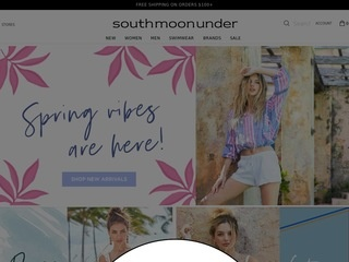 Go to South Moon Under website.