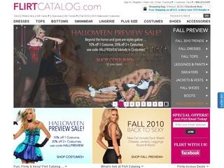 Go to flirtcatalog.com website.