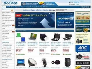 Go to adorama.com website.