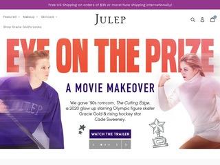 Go to Julep website.