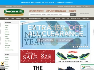 Go to footwearetc.com website.