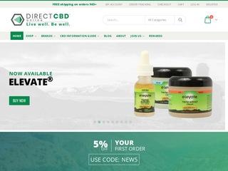 Go to Direct CBD Online website.
