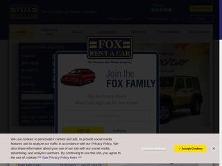 Go to foxrentacar.com website.