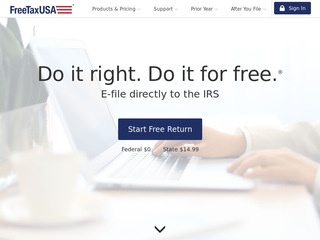Go to freetaxusa.com website.