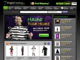 Go to frightcatalog.com website.
