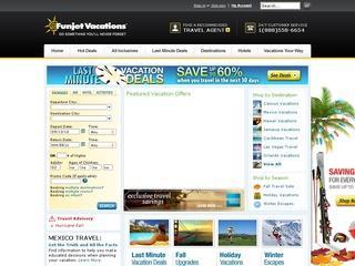 Go to funjet.com website.