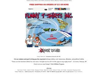 Go to funny-tshirts.biz website.