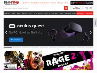 Go to gamestop.com website.