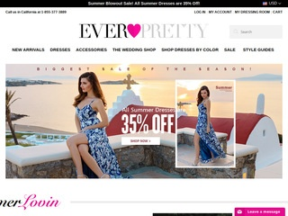 Go to ever-pretty.com website.