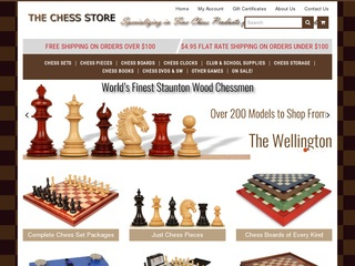 Go to thechessstore.com website.