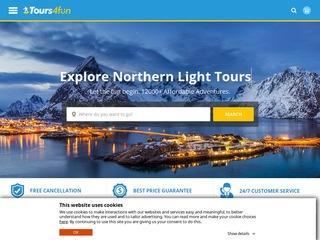 Go to tours4fun.com website.