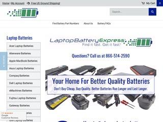 Go to laptopbatteryexpress.com website.
