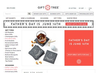 Go to gifttree.com website.