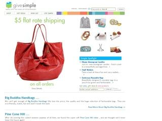 Go to givesimple.com website.