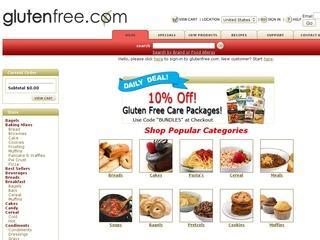 Go to glutenfree.com website.